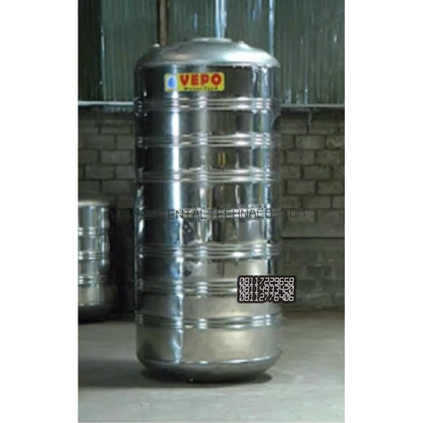 Tandon Air Vepo Stainless Steel 3000 Liter