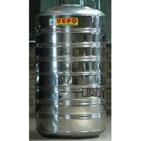Tandon Air Vepo Stainless Steel 4000 Liter atau 4100 Liter