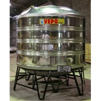Tandon Air Vepo Stainless Steel 5000 Liter atau 5300 Liter 1