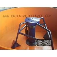 Distributor Mesin bata merah tanpa bakar sekali cetak 4 biji 3