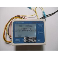 Dari Water Flow Control LCD Display Flow Sensor Solenoid valve  Power 2