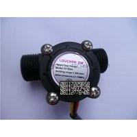 Dari Water Flow Control LCD Display Flow Sensor Solenoid valve  Power 1