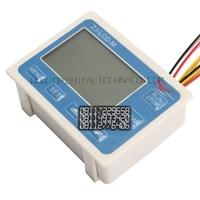 Dari Water Flow Control LCD Display Flow Sensor Solenoid valve  Power 4