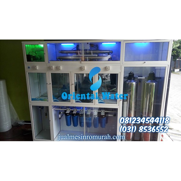 depo air minum isi ulang RO 3 IN 1