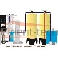 Mesin RO Reverse Osmosis Air Payau BWRO 20 M3 Per Hari