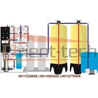 Mesin RO Reverse Osmosis Air Payau BWRO 40 M3 Per Hari