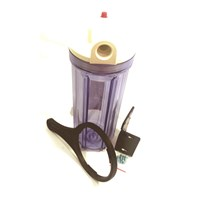 Rumah filter air tinggi 25 cm