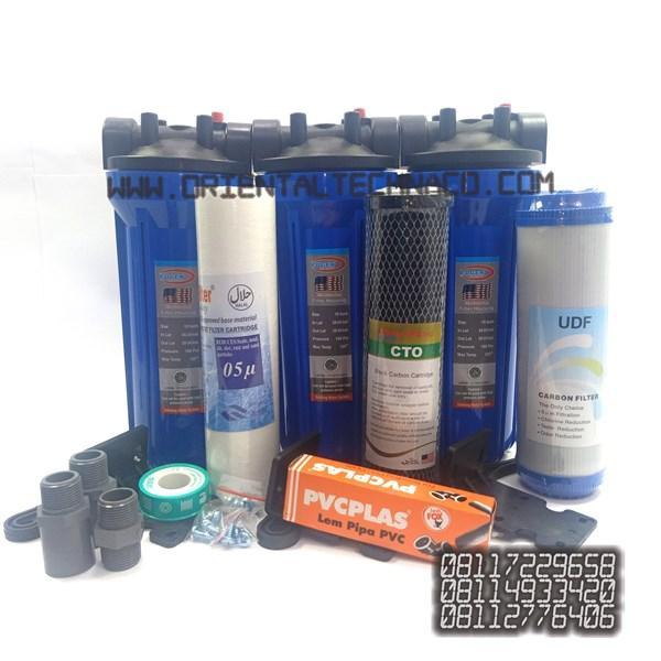 Paket filter air standart 3 housing