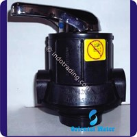 Kepala Tabung 3 Way Valve Multiport Valve Water Treatment