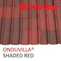 ATAP ONDUVILLA SHADED RED ( MERAH BERBAYANG )  1
