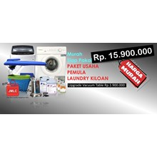 Machine Tools Starter Laundry Business Package