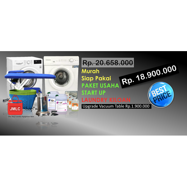 Alat Alat Mesin Paket Usaha Laundry Start Up
