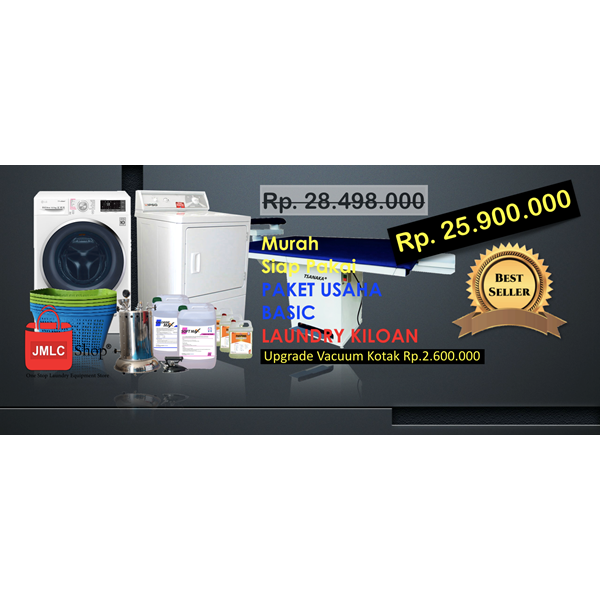 Alat Alat Mesin Paket Usaha Laundry Basic