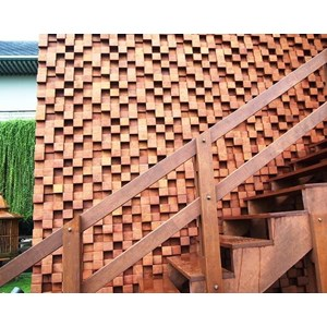 PANEL DINDING KAYU WALL CLADDING