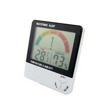 Thermohygrometer With Heatstroke Index