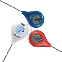 Thermopop thermometer with 360 rotating display