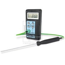 Industrial Thermometer MicroTherma 1 Microprocessor Thermometer With Automatic Re-Calibration