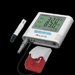 Dari Sound and Visual Alarm Humidity Temperature Data Logger  0
