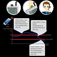 GSM Alarm Temperature Data Logger 1