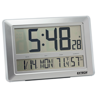 Extech CTH10A: Digital Clock - Hygro-Thermometer