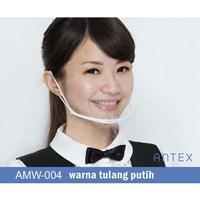 Masker Plastik Transparan Antex Putih 1