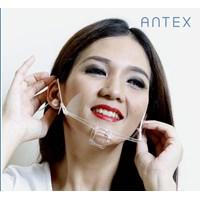 Masker Plastik Transparan Antex Bening 1