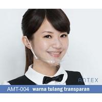 Masker Plastik Transparan Antex Bening Murah 5