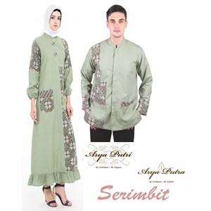 pakaian muslim seragam batik