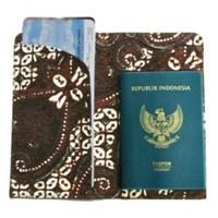 Jual paspor case batik 2