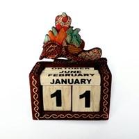 Aksesoris perabot-Kalender batik