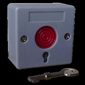 panic button dengan kunci manual