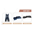 Dump Hoist Hydraulic Cylinder & Mekanism 3