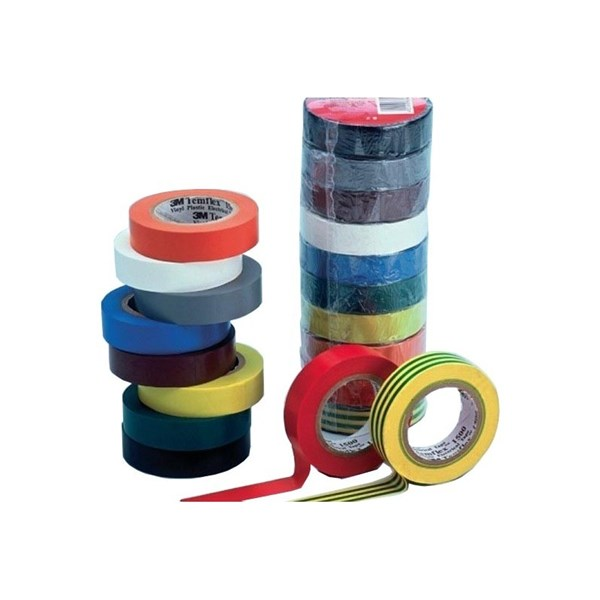 Electrical Tape 1500 GU VINYL BLUE size 18mmX20mX0.13mm