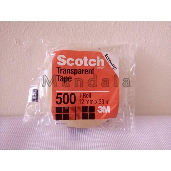 3M Scotch transparent tape 12mm X  33mm