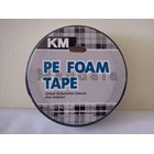 Double Foam Putih 1 Inch KM / PE Foam Tape 1