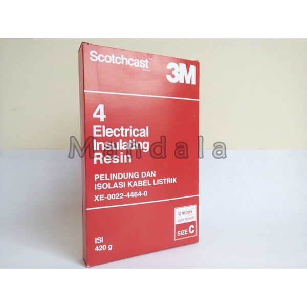 3M Scotchcast 4 Electrical insulating Resin 420g Size C
