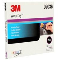 3M™ Wetordry™ Abrasive Sheet 213Q  02036 P600  9 in x 11 in (22.86 cm x 27.94)