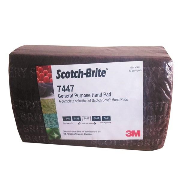 """7447 Scotch-Brite™ Hand Pad 6""""x9"""""""