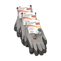 3M Comfort Grip Cut Resistant Gloves (ANSI Cut-Level 3)