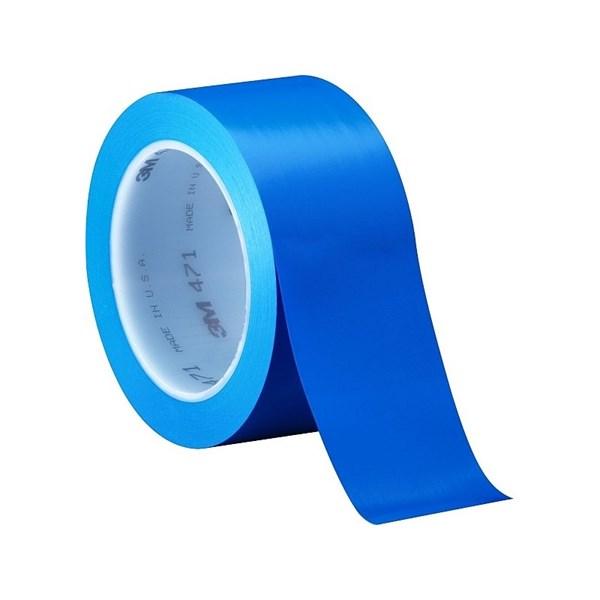3M Vinyl Tape 471 Blue 2 in x 36 yd
