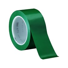 3M Vinyl Tape 471 Green 2 in x 36 yd