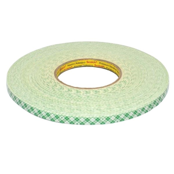 M 4032 Mounting Tape / Double Coated Foam Tape tebal: 0.8 mm size: 12 mm x 22.5 m