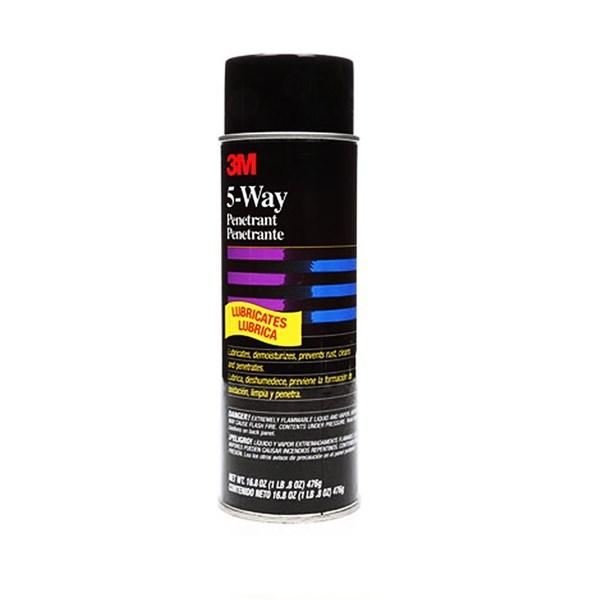 3M 5-Way Penetrant Light Amber - Pembersih Karat dan Pelumas Stanless