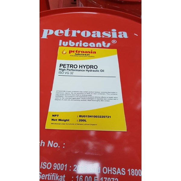 Oli Hidrolik Petro Hydro 32