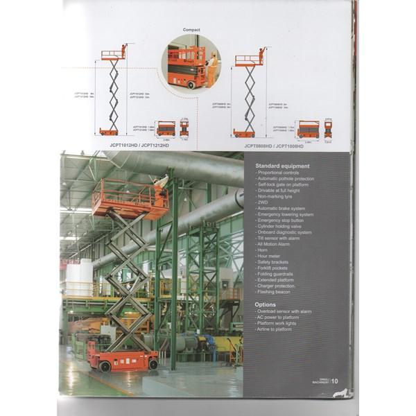 scissor lift  tangga hidrolik