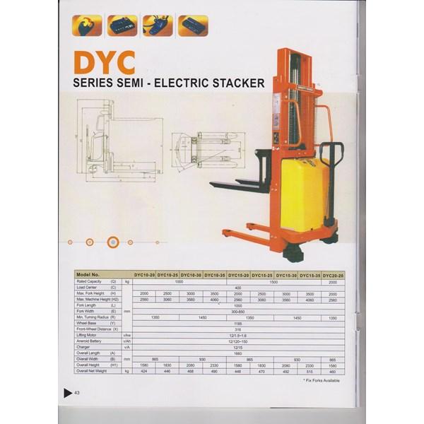 Hand Stacker Semi Elektrik
