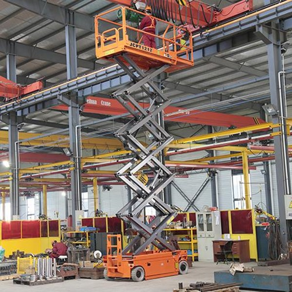 Scissor Lift 14 Meter herawan termurah  Harga Istimewa