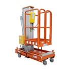 Aerial Work Platform Tangga hidrolik Elektrik herawan Single Mesh paling murah Harga Istimewa 2