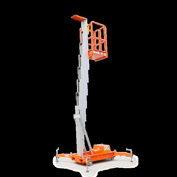 Aerial Work Platform Tangga hidrolik Elektrik herawan Single Mesh paling murah Harga Istimewa