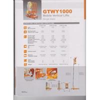 Jual Tangga Aluminium Elektrik 10 Meter Single mesh  Harga Istimewa 2